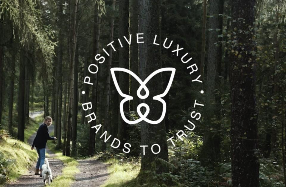 Daniella Draper Certified with Positive Luxury Butterfly Mark