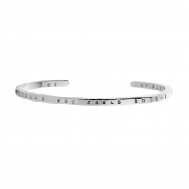 Limited Edition Silver Believe Bangle