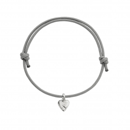 Silver Baby Heart Sailing Rope