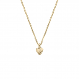 Gold Baby Heart Necklace