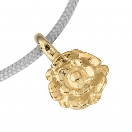 Gold Medium Yorkshire Rose Sailing Rope detailed