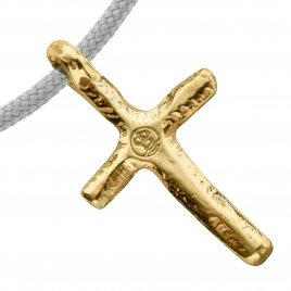 Gold Medium Cross Sailing Rope detailed