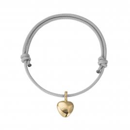 Gold Midi Grateful Heart Sailing Rope