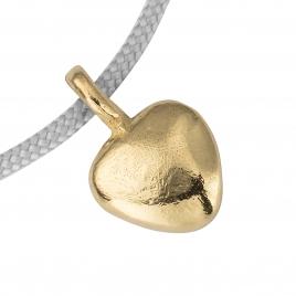 Gold Midi Grateful Heart Sailing Rope detailed