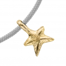 Gold Mini Star Sailing Rope detailed