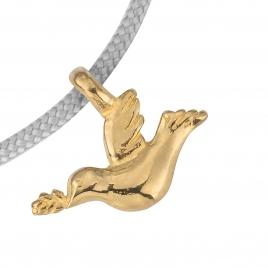 Gold Mini Turtle Dove Sailing Rope detailed