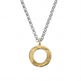 Silver & Gold Maxi Forever Necklace