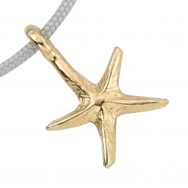 Gold Medium Starfish Sailing Rope detailed