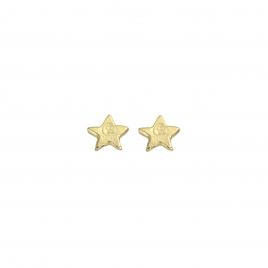 Gold Tiny Star Ear Charm Set