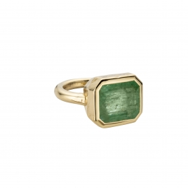 KOHALA Gold Emerald Ring