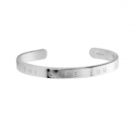 Silver Luxury Signature Bangle