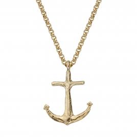 Gold Maxi Anchor Necklace