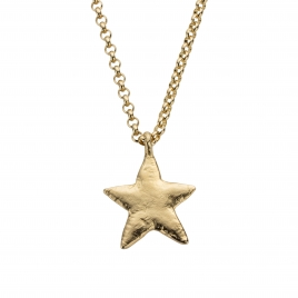 Gold Maxi Star Necklace