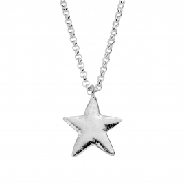 Silver Maxi Star Necklace