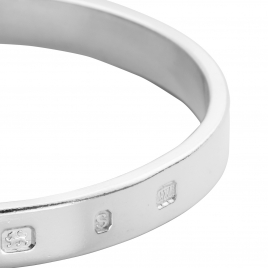 Men's Feature Hallmark Bangle detailed