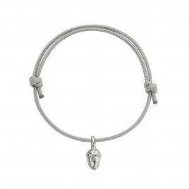Silver Medium Bowness Acorn Sailing Rope