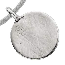 Silver Large Moon Sailing Rope detailed