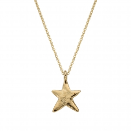 Gold Midi Star Necklace