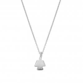 Silver Mini Angel Necklace