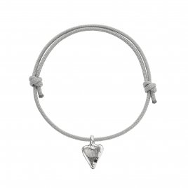 Silver Mini Heart Sailing Rope