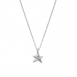 Silver Mini Star Necklace