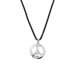 Medium Peace Sailing Rope Necklace