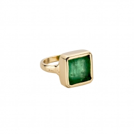 CONSTANTINE Gold Emerald Ring