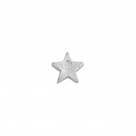 Silver Little Star Single Ear Charm