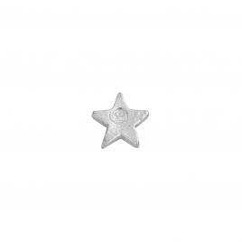 Silver Little Star Single Ear Charm