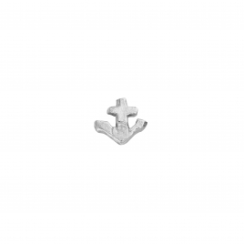 Silver Tiny Anchor Single Ear Charm