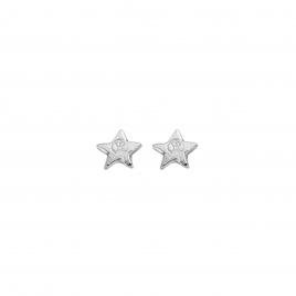 Silver Tiny Star Ear Charm Set