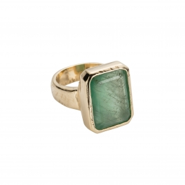 PHYSIS Emerald Gold Ring