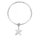 Silver Maxi Star Bangle