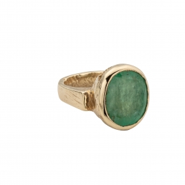 AURELIA Gold Emerald Ring