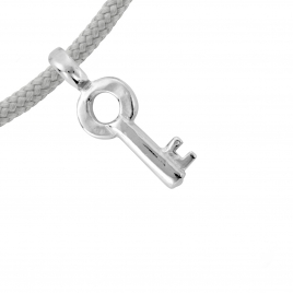 Silver Mini Dreamer's Key Sailing Rope detailed