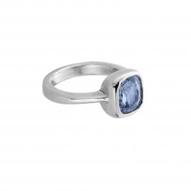 GALIA Silver Blue Sapphire Ring