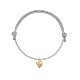Gold Baby Heart Sailing Rope