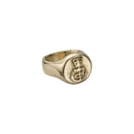 Gold Nautical Ring