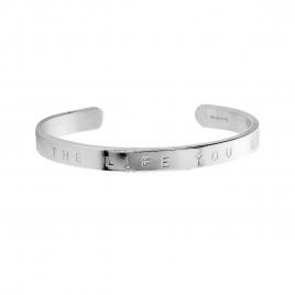 Silver Luxury Signature Bangle