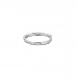 Mens Silver Mini Posey Ring
