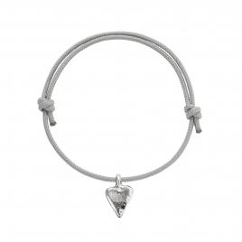 Silver Mini Heart Sailing Rope