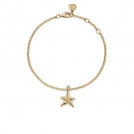 Gold Mini Star Chain Bracelet