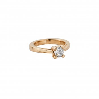 ANTOINETTE Gold Diamond Claw Ring