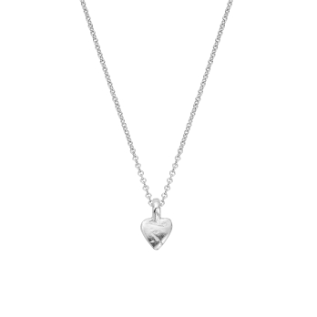 Silver Baby Heart Necklace