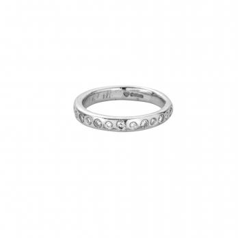 Platinum 13 Diamond Posey Ring