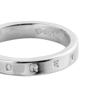 Silver Dream Ring detailed