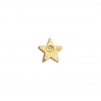 Gold Little Star Single Ear Charm