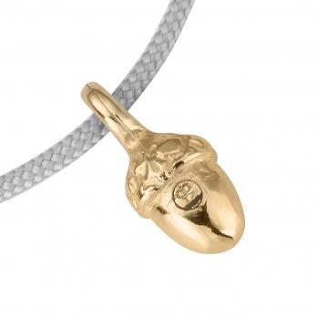 Gold Medium Bowness Acorn Sailing Rope detailed