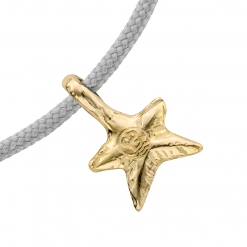 Gold Mini Star Sailing Rope detailed