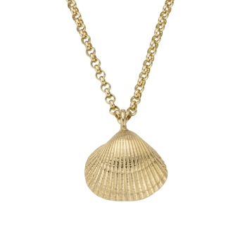 Gold Maxi Shell Necklace